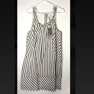 Anthropologie Maeve striped Sleeveless dress NWT